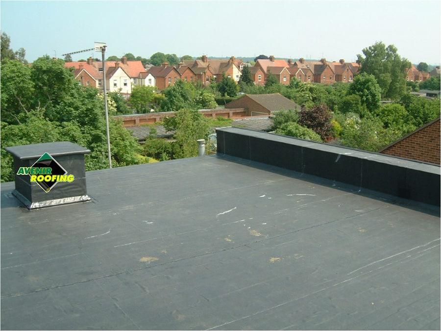 Brixton School EPDM roofing Installation