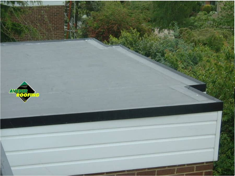 EPDM roofing installation