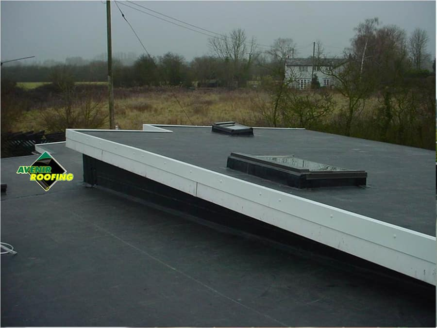 EPDM Rubber Roofing Installation