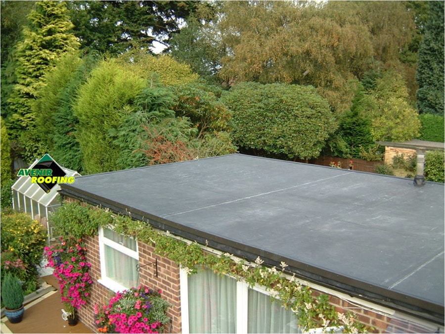 Detached EPDM Roofing Installation