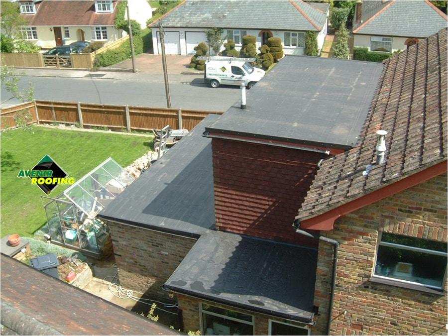 Dorma roof EPDM installation