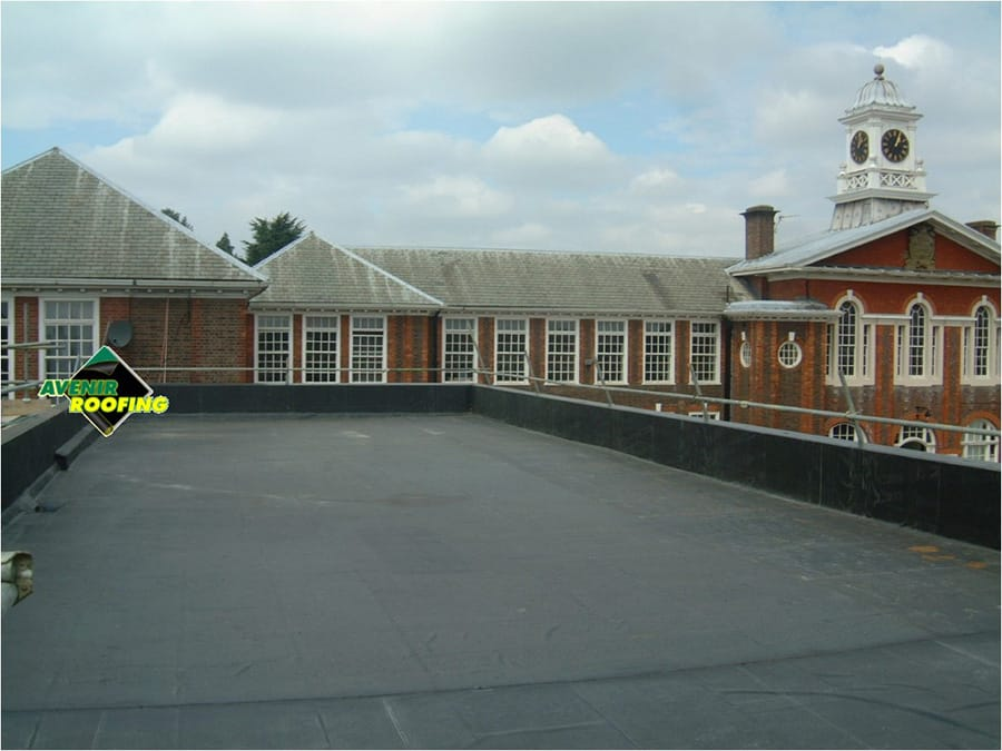 Brixton School EPDM roofing