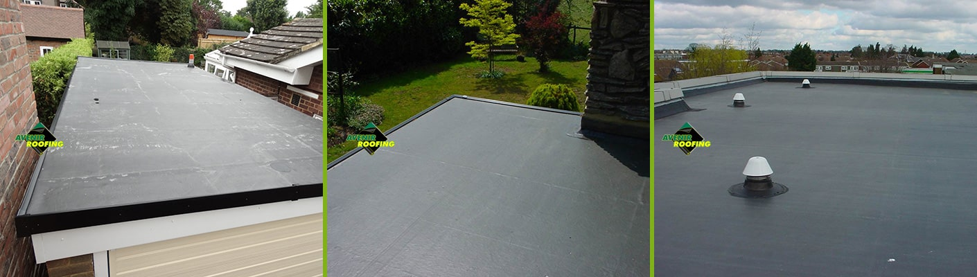 Datached garage EPDM Installation by Avenir Roofing